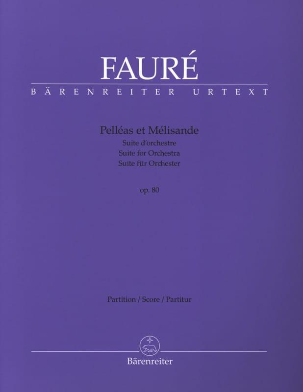 Pelléas et Mélisande opus 80 - Suite d'Orchestre - laflutedepan.com