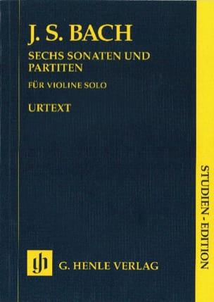 Sonates et Partitas BWV 1001-1006 pour violon solo BACH laflutedepan