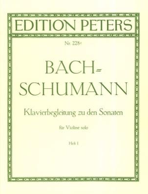 Klavierbegleitung zu den Sonaten für Violine solo, Heft 1 laflutedepan