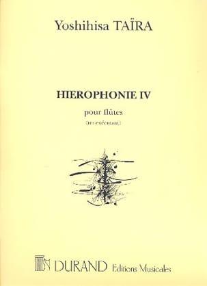 Hiérophonie 4 - Flûtes 1 exécutant Yoshihisa Taïra laflutedepan