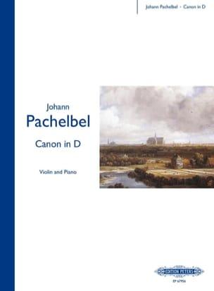 Canon In D - Violin PACHELBEL Partition Violon - laflutedepan