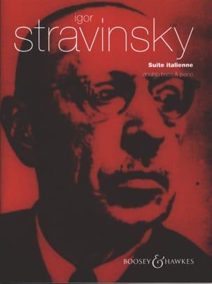 Suite Italienne - Contrebasse et Piano - STRAVINSKY - laflutedepan.com