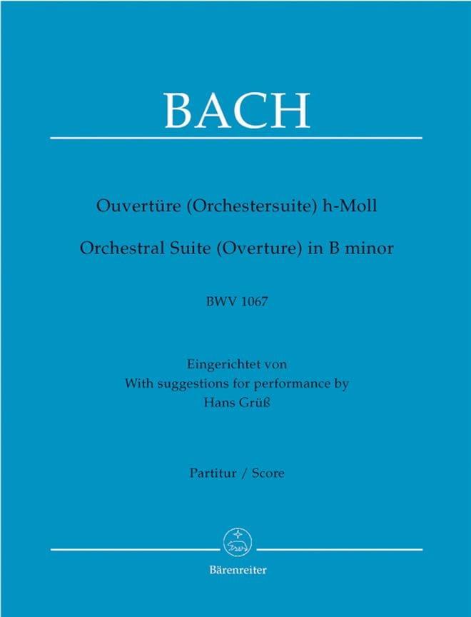 Ouverture de la suite en Si BWV 1067 - Conducteur - laflutedepan.com