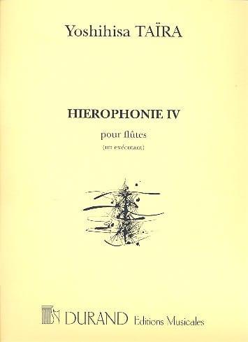 Hiérophonie 4 - Flûtes 1 exécutant - laflutedepan.com