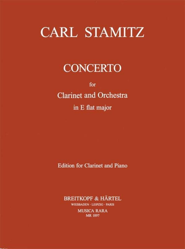 Concerto Clarinette Mib Majeur - STAMITZ - laflutedepan.com