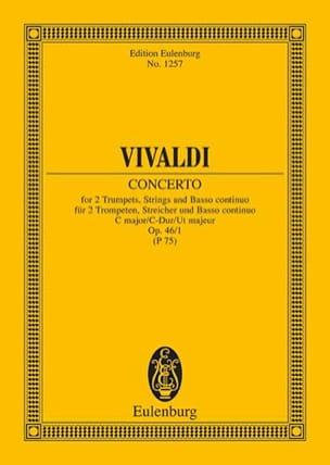 Konzert C-Dur, Op. 46 N°1 - 2 Trompettes, Cordes et B. C. laflutedepan