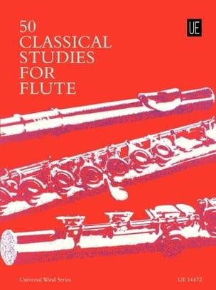 Frans Vester - 50 estudios clásicos para flauta - Partition - di-arezzo.es