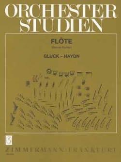 Traits d'Orchestre pour Flûte GLUCK Partition laflutedepan