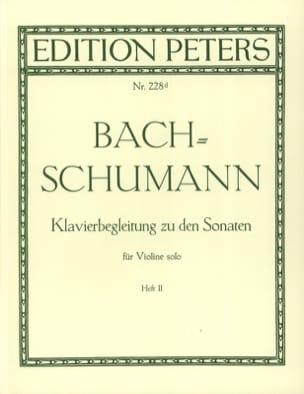 Klavierbegleitung zu den Sonaten für Violine solo, Heft 2 laflutedepan