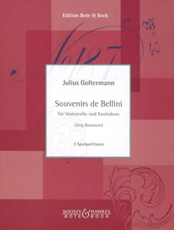 Souvenirs de Bellini - Cello and Double-Bass laflutedepan