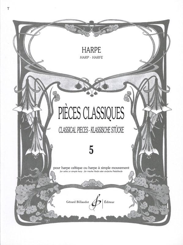 Pièces classiques Volume 5 - Harpe - Partition - laflutedepan.com