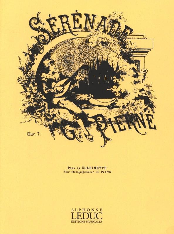 Sérénade op. 7 - Clarinette - PIERNE - Partition - laflutedepan.com