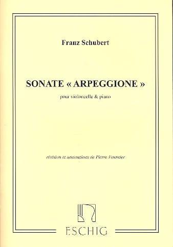 Sonate Arpeggione, la mineur D. 821 - SCHUBERT - laflutedepan.com