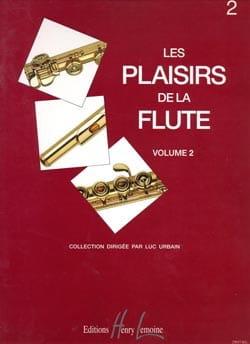 Les plaisirs de la flûte - Volume 2 - Luc Urbain - laflutedepan.com