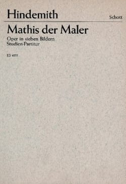 Mathis der Maler HINDEMITH Partition Grand format - laflutedepan