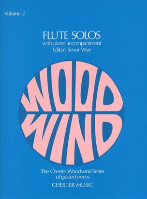Flute Solos - Volume 2 - Flute piano Trevor Wye Partition laflutedepan