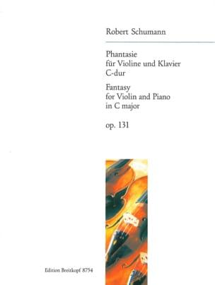 SCHUMANN - Phantasie C-Dur, op. 131 - Partition - di-arezzo.com