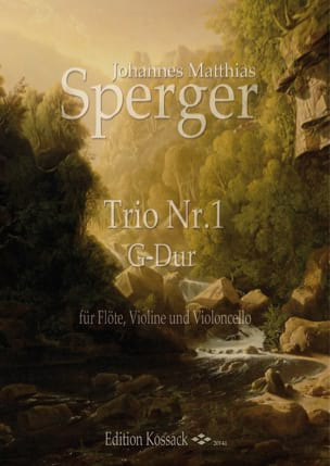 Trio n° 1 - Johann Matthias Sperger - Partition - laflutedepan.com