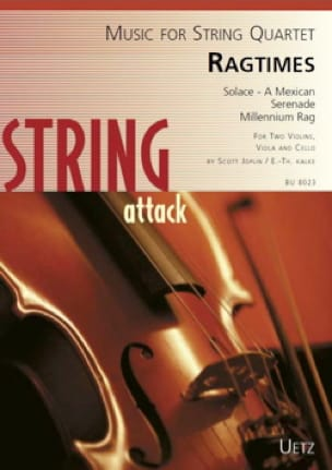 Ragtimes - Quatuor à cordes - JOPLIN - Partition - laflutedepan.com
