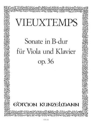 Sonate in B Dur op. 36 VIEUXTEMPS Partition Alto - laflutedepan