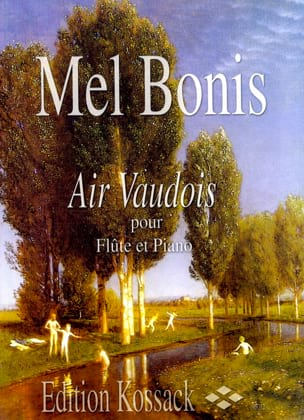 Air vaudois - Mel Bonis - Partition - laflutedepan.com