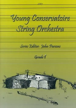 Young Conservatory String Orchestra vol 1 Partition laflutedepan