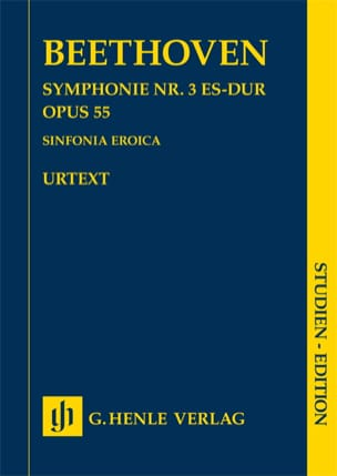 Symphonie n° 3, op. 55 - Conducteur - BEETHOVEN - laflutedepan.com