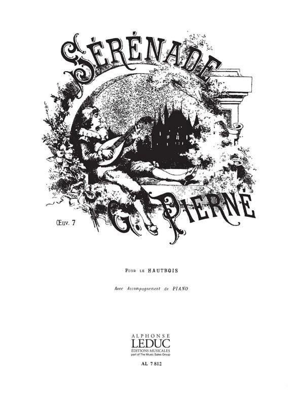Sérénade op. 7 - PIERNE - Partition - Hautbois - laflutedepan.com
