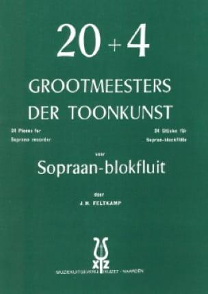 20 + 4 Grootmeesters der Toonkunst - J. H. Feltkamp - laflutedepan.com