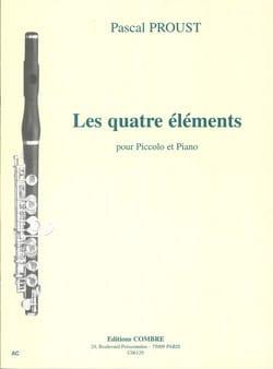 Les quatre éléments Pascal Proust Partition laflutedepan