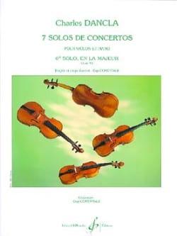 Solo de concerto n° 6 op. 95 en la majeur DANCLA laflutedepan