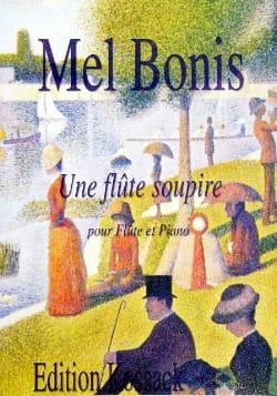 Une flûte soupire Mel Bonis Partition Flûte traversière - laflutedepan