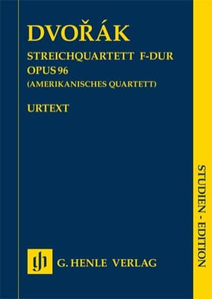 Quatuor à cordes, op. 96 Américain - Conducteur DVORAK laflutedepan