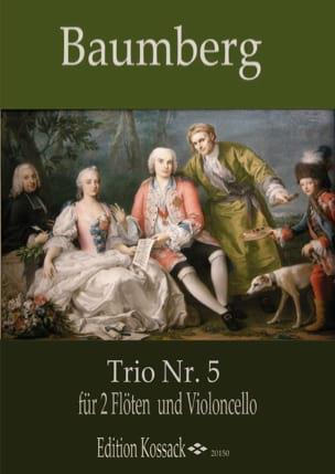 Trio n° 5 - J. C. Baumberg - Partition - Trios - laflutedepan.com