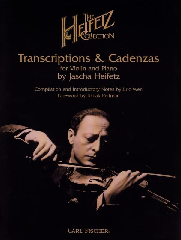 The Heifetz Collection, Volume 1 : Transcriptions and Cadenzas - laflutedepan.com