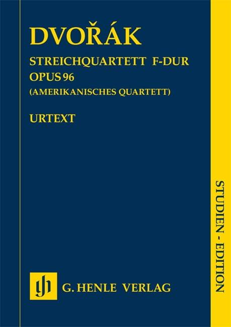 Quatuor à cordes, op. 96 Américain - Conducteur - laflutedepan.com