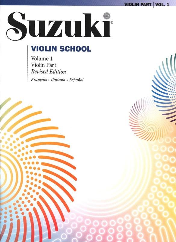 Violin School Volume 1 en Français sans CD - SUZUKI - laflutedepan.com