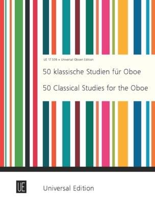 50 Klassische Studien für Oboe laflutedepan