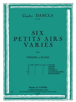 DANCLA - Varied air op. 89 n ° 5 on a theme of the Swiss Family - Partition - di-arezzo.co.uk