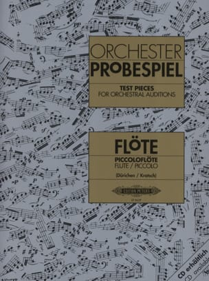 - Orchester Probespiel - Flöte / Piccolo - Partition - di-arezzo.co.uk