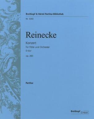 Concerto pour Flûte op. 283 - Conducteur Carl Reinecke laflutedepan