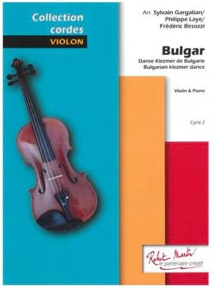 Bulgar - Violon et Piano Traditionnel Partition Violon - laflutedepan