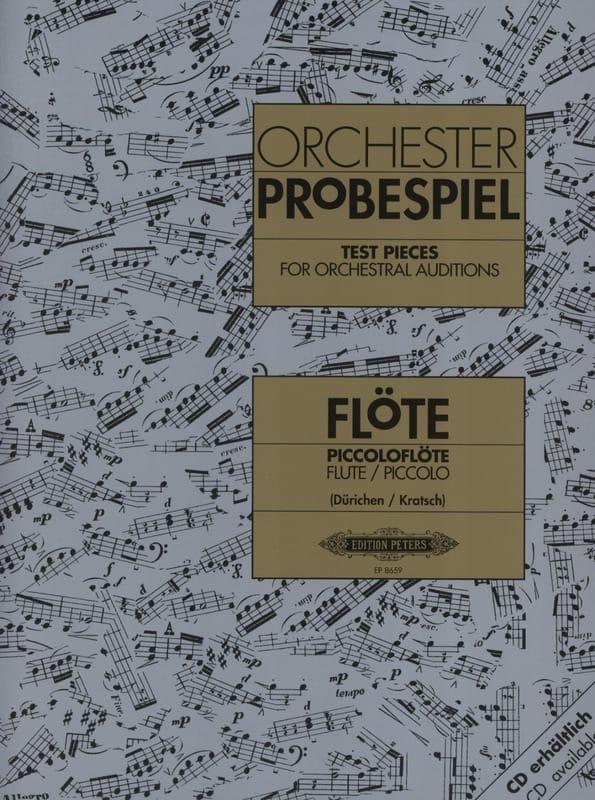 Orchester Probespiel - Flöte / Piccolo - laflutedepan.com