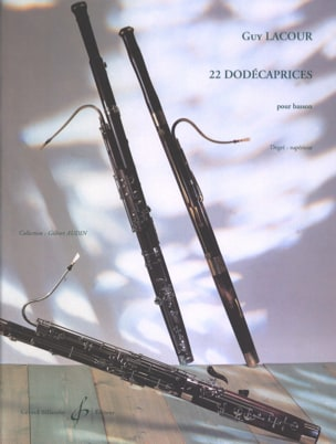 22 Dodécaprices Guy Lacour Partition Basson - laflutedepan