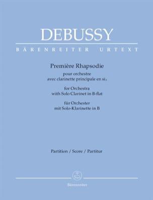 1ère Rhapsodie avec Clarinette - Conducteur DEBUSSY laflutedepan