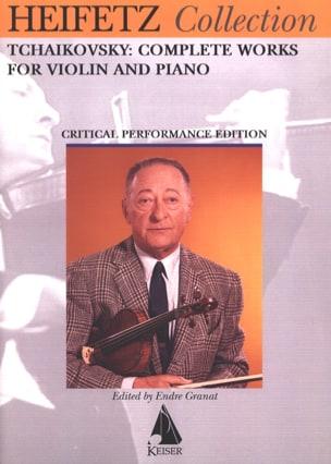 Piotr Illitch Tchaikovsky - Complete Works (Heifetz) - Partition - di-arezzo.com
