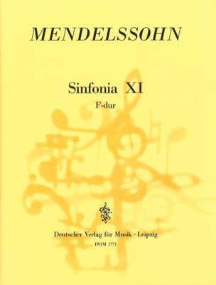 Sinfonia Nr. 11 F-Dur - Partitur - MENDELSSOHN - laflutedepan.com