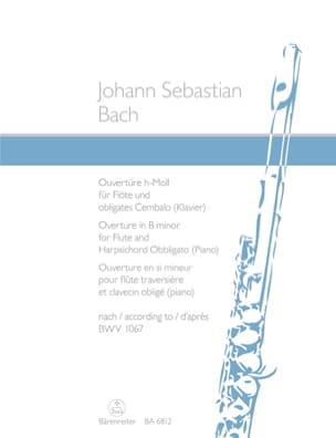 Ouverture en si mineur BWV 1067 BACH Partition laflutedepan