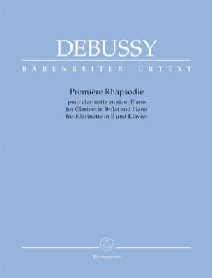 DEBUSSY - 1ère Rhapsodie - Partition - di-arezzo.fr