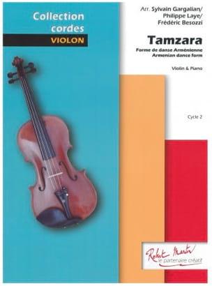 Tamzara - Violon et Piano Traditionnel Partition Violon - laflutedepan